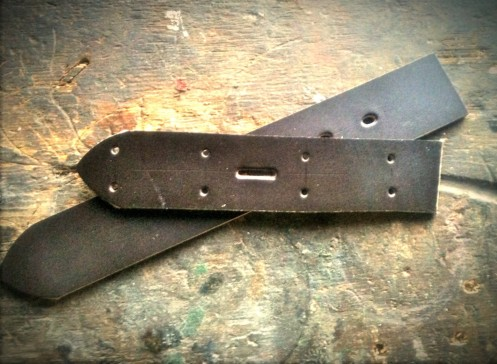Leather Belt - Templates